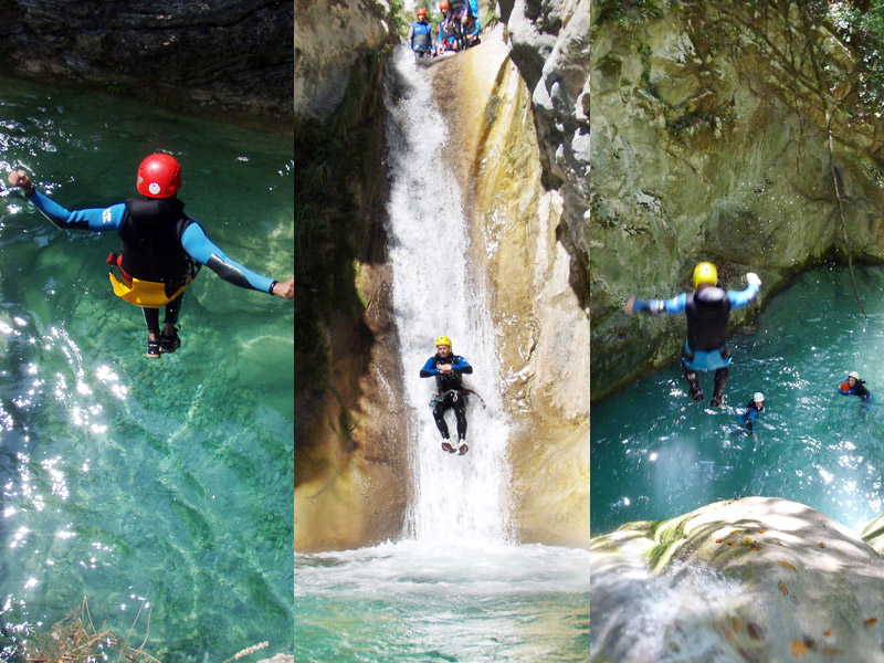 3 jours de canyoning