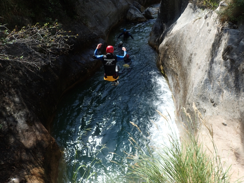 2014 canyoning nice bonnes conditions