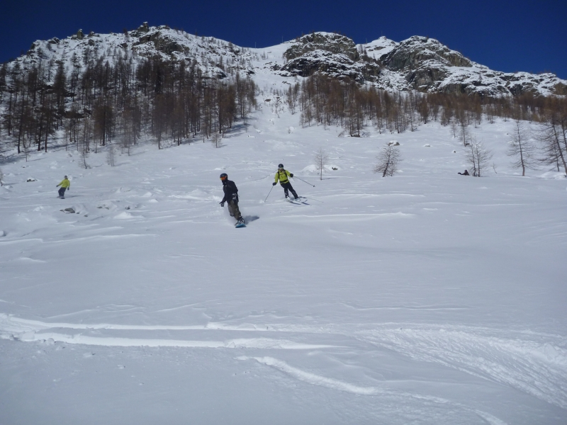 Ski hors piste Gressoney